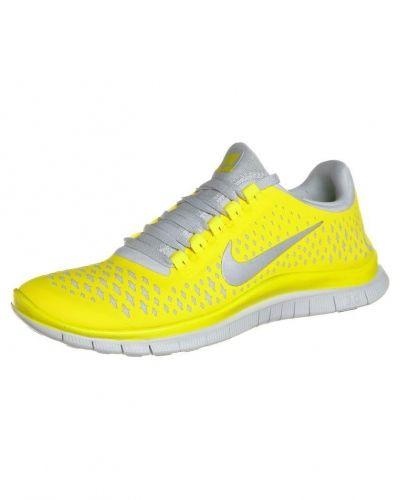 Nike Performance Nike Performance NIKE FREE 3.0 Löparskor extra lätta Gult. Traningsskor håller hög kvalitet.