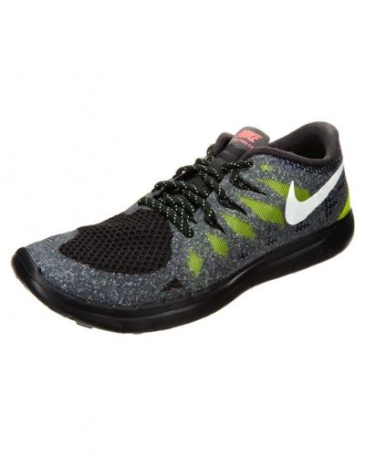 Nike Performance Nike Performance FREE 5.0 GLOW Löparskor extra lätta black/white/force green/hyper grape