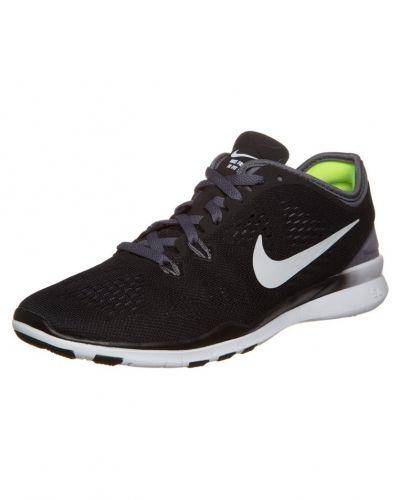 new style b2f06 043e0 Nike Performance - Nike Performance FREE 5.0 TR FIT 5 Aerobics   gympaskor  black white dark grey