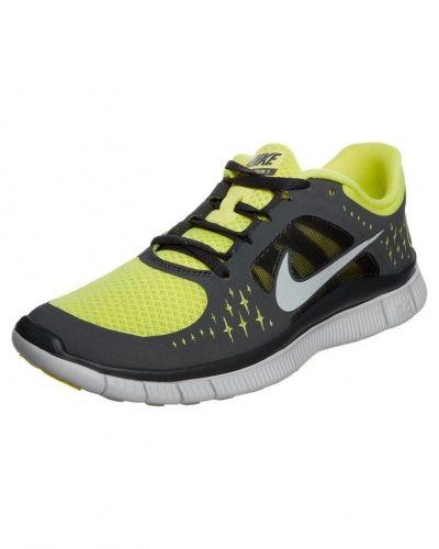 Nike Performance Nike Performance FREE RUN+ 3 Löparskor extra lätta Gult. Traningsskor håller hög kvalitet.