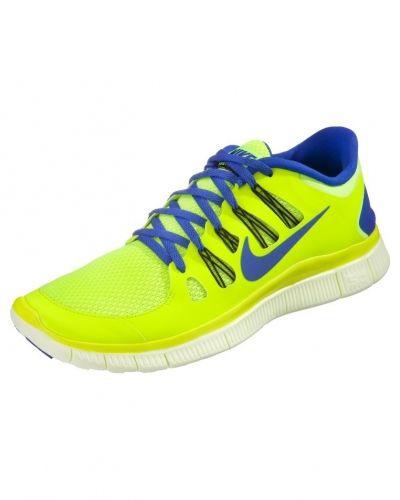 Nike Performance FREE RUN 5.0+ Löparskor extra lätta Gult från Nike Performance, Löparskor