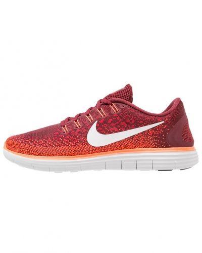 Free run distance löparskor team red/offwhite/university red Nike Performance löparsko till mamma.