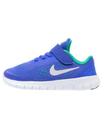 Free run löparskor blue/pure platinum/stadium green/offwhite Nike Performance löparsko till mamma.