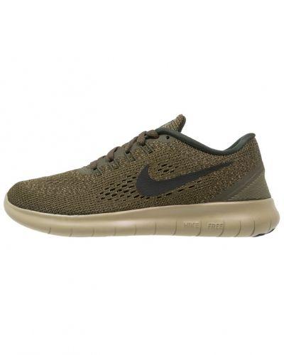 Löparsko Nike Performance FREE RUN Löparskor dark loden/black/neutral olive/sequoia/white från Nike Performance