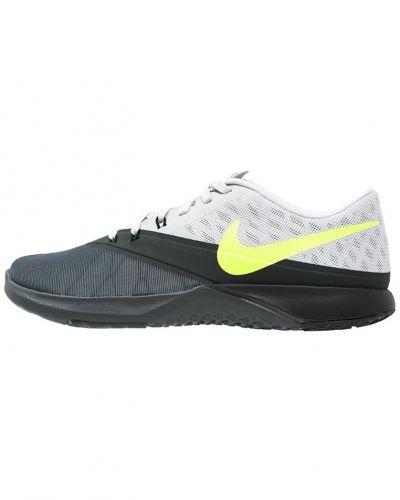 Fs lite trainer 4 aerobics & gympaskor dark grey/volt/pure platinum/anthracite från Nike Performance