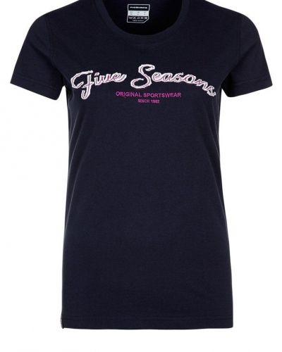 Five Seasons FUEL Tshirt med tryck Blått - Five Seasons - Kortärmade träningströjor