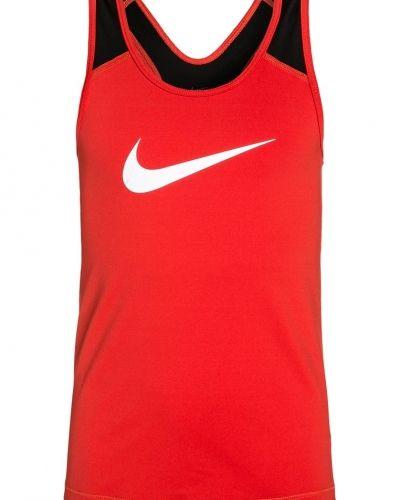 Funktionströja max orange Nike Performance träningslinnen till dam.