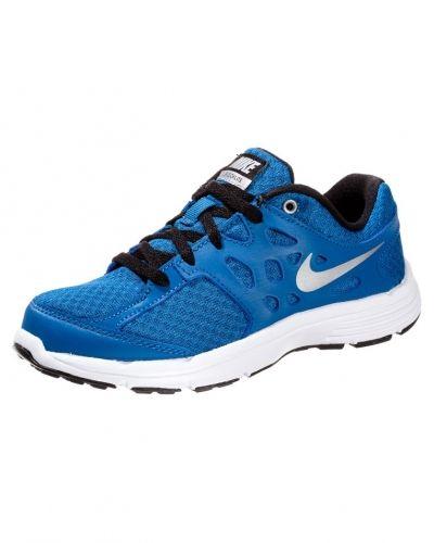 Till barn från Nike Performance, en blå löparsko.