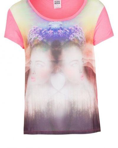 Vero Moda Vero Moda GALILEI Tshirt med tryck rosa