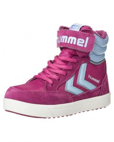 Hummel GEILO HIGH Höga sneakers rosa Hummel höga sneakers till barn.