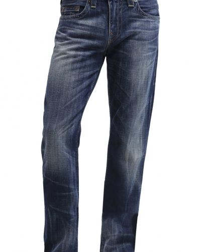 Geno jeans slim fit destroyed denim True Religion jeans till dam.