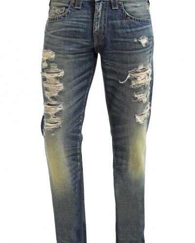 Geno rough city jeans straight leg darkblue denim True Religion straight leg jeans till mamma.