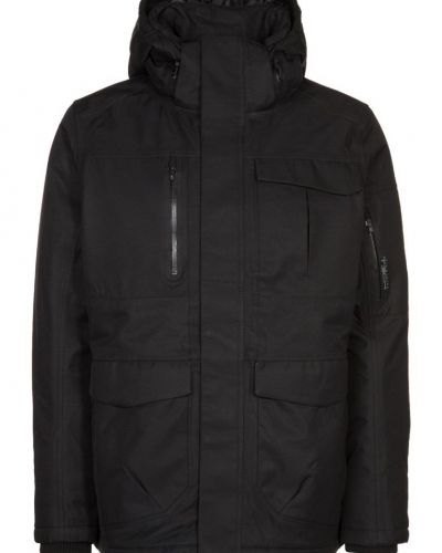 Jack & Jones Tech GEOGRAFIC Hardshelljacka Svart - Jack & Jones Tech - Regnjackor