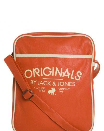 Jack & Jones GIDEON Axelremsväska Orange - Jack & Jones - Axelremsväskor