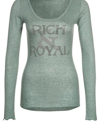 Långärmad tröja från Rich & Royal till dam.