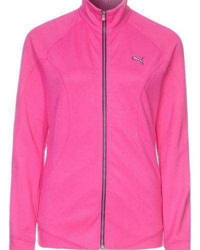 Puma Golf GOLF SLIM TRACK Sweatshirt Ljusrosa - Puma Golf - Långärmade Träningströjor
