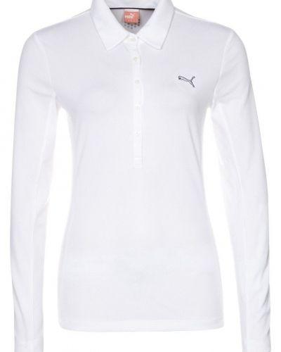 Puma Golf GOLF TECH Tshirt långärmad Vitt från Puma Golf, Långärmade Träningströjor