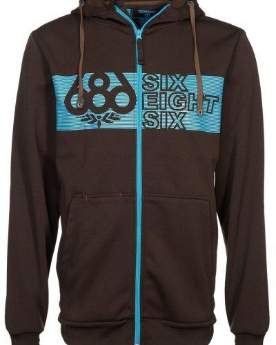 686 GROVE BONDED TECH Sweatshirt Brunt - 686 - Träningsjackor