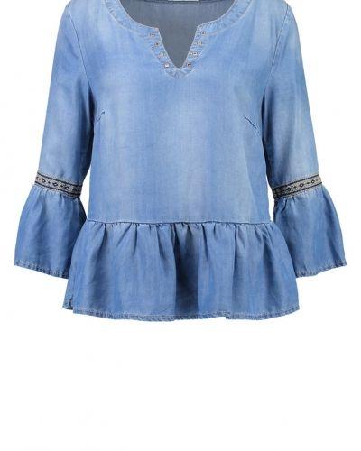 Gry tunika light blue denim Cream tunika till dam.