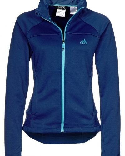 adidas Performance HT FLEECE Fleecejacka Blått från adidas Performance, Fleecejackor