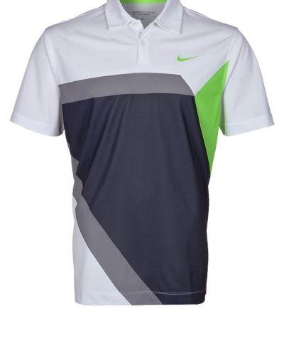 Nike Golf HYPER GEO POLO Piké Grått från Nike Golf, Träningspikéer