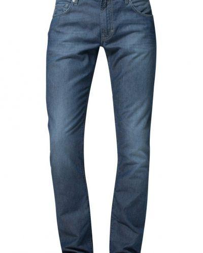 Till herr från J.LINDEBERG, en blå straight leg jeans.