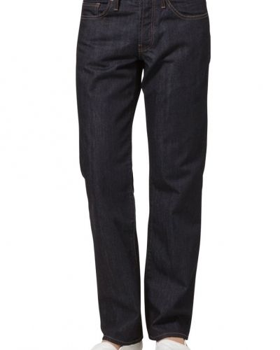 Blå straight leg jeans från Henri Lloyd till herr.