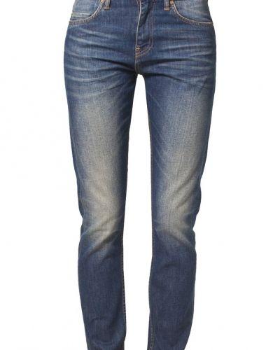 Blå straight leg jeans från Edwin till dam.