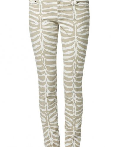 Till dam från MICHAEL Michael Kors, en beige slim fit jeans.