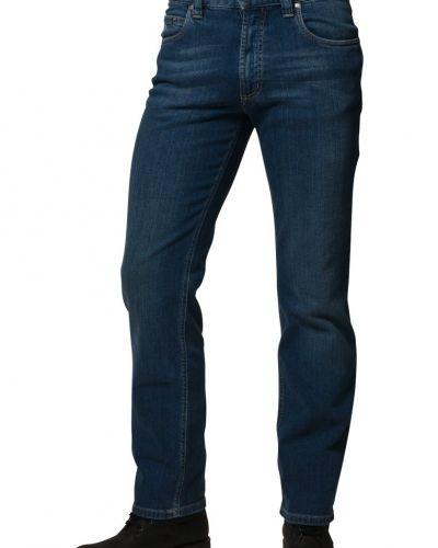 Blå straight leg jeans från Bugatti till herr.
