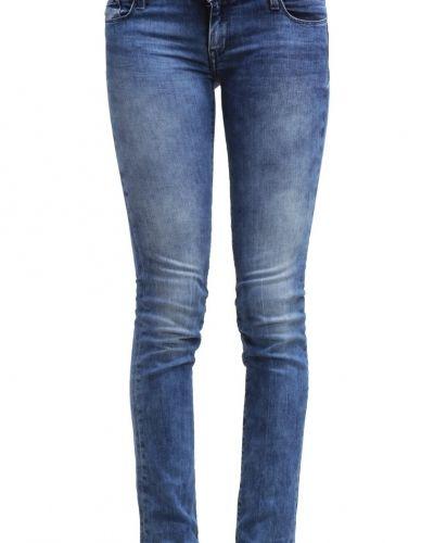 Jeans slim fit blue denim Teddy Smith slim fit jeans till dam.
