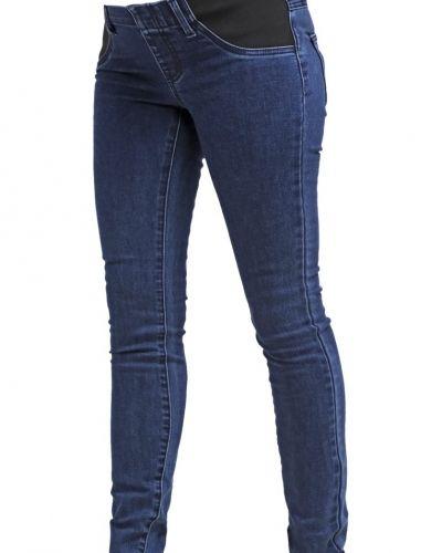 Jeans slim fit blue denim Zalando Essentials Maternity slim fit jeans till dam.