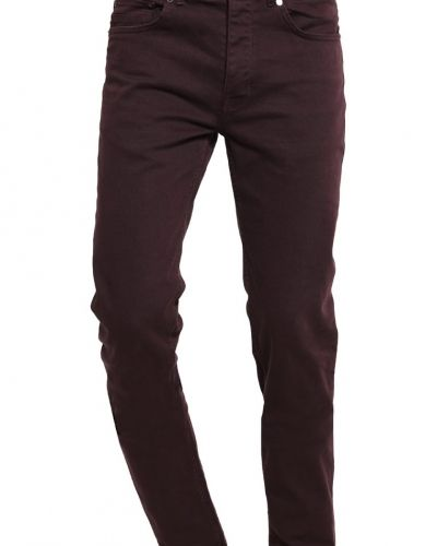 Jeans slim fit dark mauve Burton Menswear London slim fit jeans till dam.