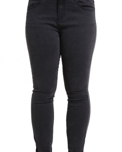 Jeans slim fit grey denim Zalando Essentials Curvy slim fit jeans till dam.