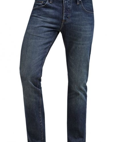Jeans slim fit indigo selvedge Vans slim fit jeans till dam.