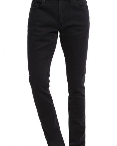 Jeans slim fit ink black Volcom slim fit jeans till dam.