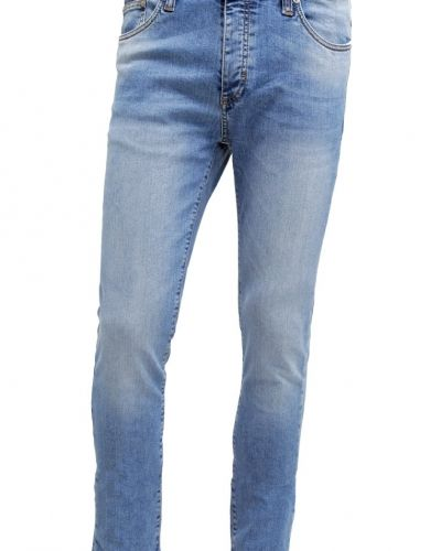 Jeans slim fit light blue denim Pier One slim fit jeans till dam.