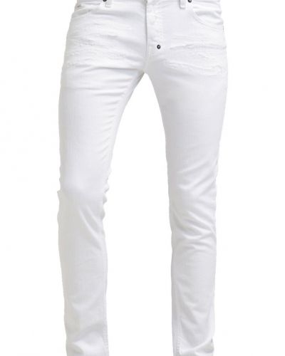 Jeans slim fit white denim Just Cavalli jeans till dam.
