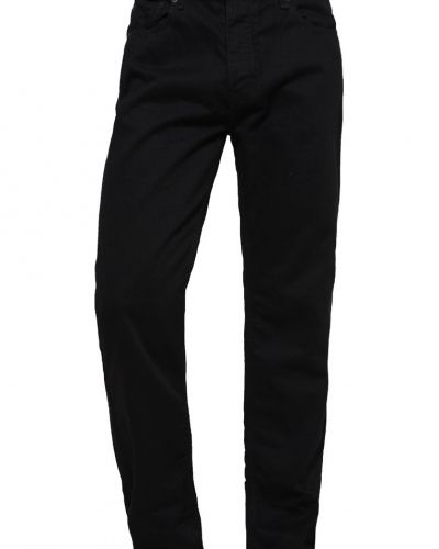 Jeans straight leg black Burton Menswear London straight leg jeans till dam.