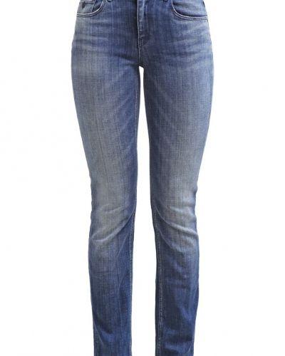 Jeans straight leg heads and hooks Maison Scotch straight leg jeans till dam.