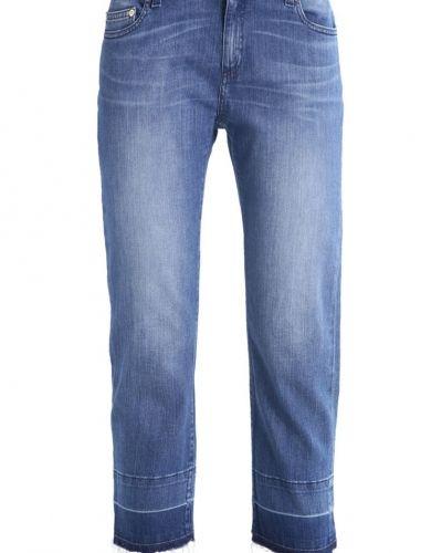 Jeans straight leg vintage blue wash MICHAEL Michael Kors straight leg jeans till dam.