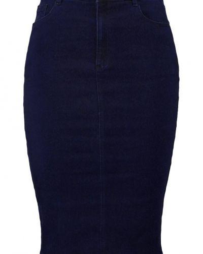 Jeanskjol blue Missguided Plus jeanskjol till tjejer.