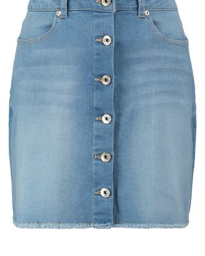 Jeanskjol Missguided Jeanskjol mid blue från Missguided