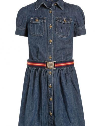 Polo Ralph Lauren jeansklänning till tjejer.