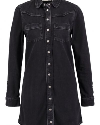 Topshop Jeansklänning washed black