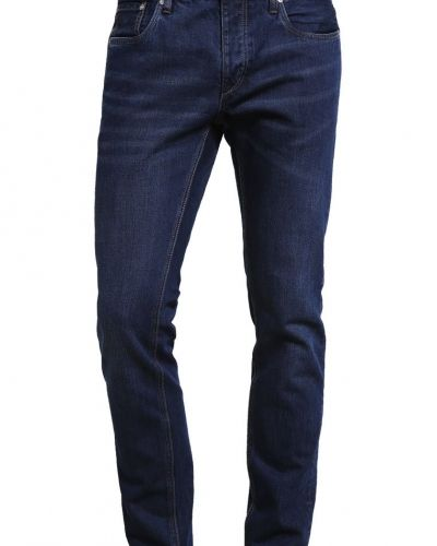 Jjitim jjoriginal jeans slim fit blue denim Jack & Jones slim fit jeans till dam.