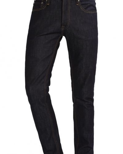 Jjitim jjoriginal jeans straight leg blue denim Jack & Jones straight leg jeans till dam.