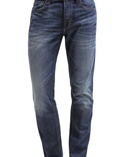 Till herr från Jack & Jones, en blå straight leg jeans.
