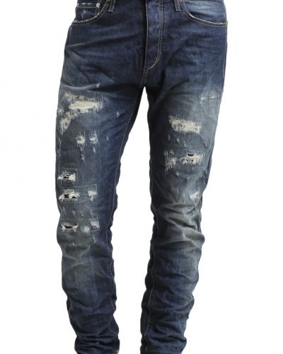 Jjvcerik jeans relaxed fit blue denim Jack & Jones loose fit jeans till dam.