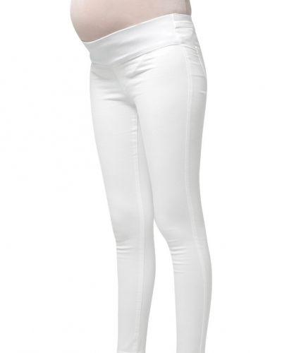 Joni jeans slim fit white Topshop slim fit jeans till dam.